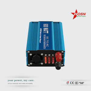 DC AC Solar Pure Sine Wave Power Inverter 600 Watt pictures & photos