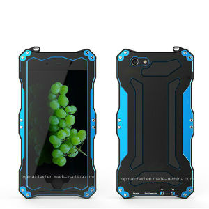 New Outerdoor Sports IP68 Waterproof Shockproof Dirtproof Tempered Glass Aluminum Metal Phone Case for iPhone 6 pictures & photos