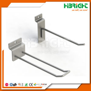 Slatwall Chrome Display Hooks for Supermarket pictures & photos