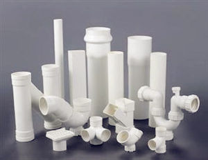 White PVC Pipes and Fittings pictures & photos