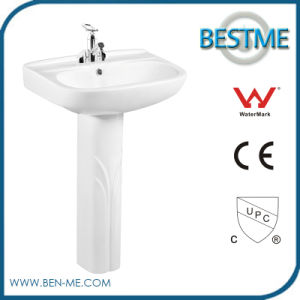 China Supplier Freestanding Modern Pedestal Basin pictures & photos