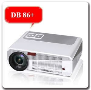 Hot 1280*800p OEM ODM 3D Android WiFi LED HDMI 86+ Projector pictures & photos