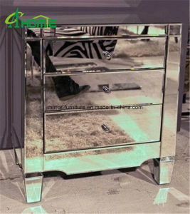 Mirrored 3 Drawer Chest/Mirrored 3 Drawer Bedside Table/Nightstand pictures & photos