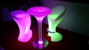 Light up LED Table RGB LED Bar Furniture Outdoor Table pictures & photos