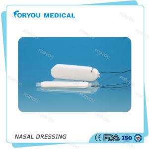 Foryou Medical FDA Approved Stops Bleeding Fast Merocel Nasal Packing Nasal Dressing with Integral Airway pictures & photos