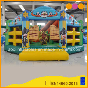 with Advanced Printing Cowboy Fun City Inflatables for Sale (AQ01267) pictures & photos