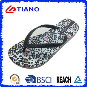 Fashion Leopard Flip Flop for Women (TNK35705) pictures & photos