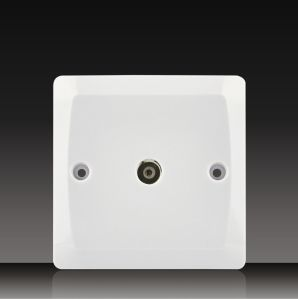 Coaxial TV Socket (BK21) pictures & photos