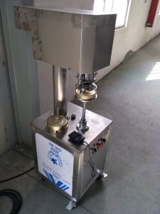 Semi Automatic Can Sealing Machine pictures & photos