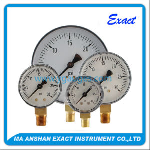 Dry Black Steel General Pressure Gauge pictures & photos