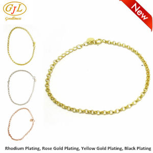 925 Sterling Sliver Bracelet for Wonman with Guangzhou Factory Price (BT6725) pictures & photos