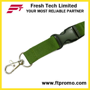 Chinese OEM Promotion Polyester Lanyard with Logo pictures & photos