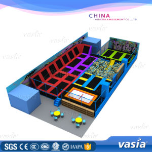 Top Quality Commercial Indoor Trampoline Park by Vasia pictures & photos