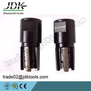 D25*30 Diamond CNC Finger Drilling Bits pictures & photos