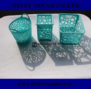 Melee Plastic Cloth Laundry Basket Home Furniture Mould pictures & photos