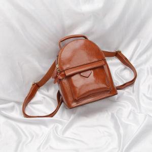 Al90057. Cow Leather Backpack Schoolbag Shoulder Bag Fashion Handbags Fashion Backpack Lady Bags Designer Handbags