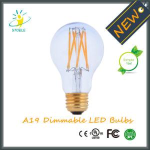New Design Neodymium Glass A19/A60 Nostalgic LED Filament Bulb pictures & photos
