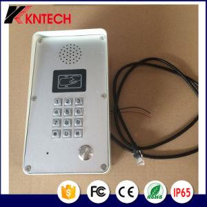 SIP Phone Door Entry Intercom Knzd-51 IP Voice Doorphone Password RFID pictures & photos