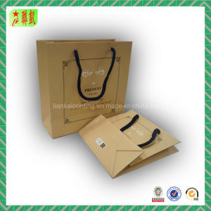 Kraft Paper Hangbag with Custome Printing pictures & photos