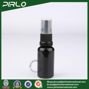 20ml Black Glass Spray Bottles with Black Fine Mist Sprayer pictures & photos