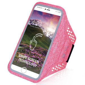 Adjustable Armband with Card and Key Slots for Smartphones pictures & photos