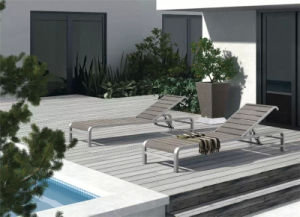 Wholesale Leisure Patio Terrace Polywood Sun Lounger pictures & photos