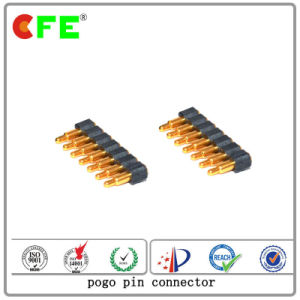 Single Row SMT 7pin High Quality Spring Loaded Pin pictures & photos