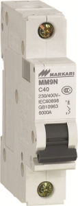 MCB, Mini Circuit Breaker 10KA pictures & photos