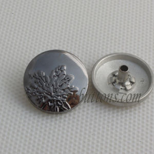 Gunmetal Design Shiny Polishing Snap Button for Accessory pictures & photos