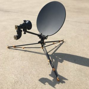 New 0.4m Carbon Fiber Flyaway Vsat Dish Antenna pictures & photos