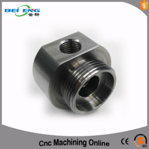 Customized 4/5 Axis Machining Parts Aluminum Block Machining Parts with Manifold pictures & photos