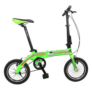 14 Inch Aluminum Alloy Folded Bicycle pictures & photos