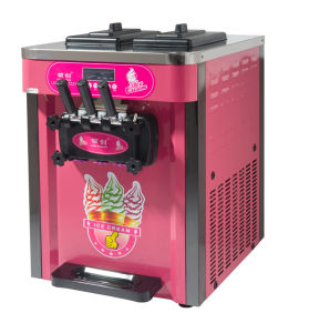 Three Flavor Commercial Ice Cream Maker pictures & photos