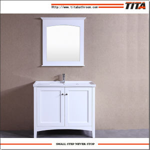 High Quality Ceramic Basin Bathroom Cabinet T9304-32W pictures & photos
