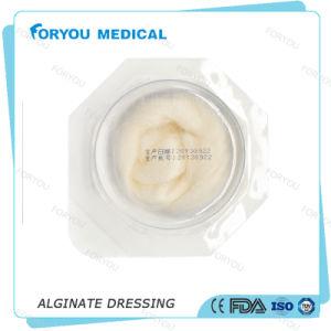 Huizhou Foryou Medical Pressure Ulcer Calcium Alginate Chronic Wound Treatment Sterile Non Adherent Alginate Dressing pictures & photos