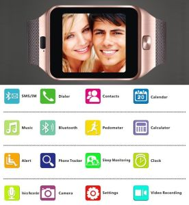 Andriod Smart Watch From China Manufacturer Dz09 pictures & photos