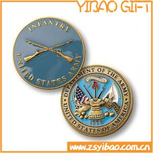 3D Crown Gold Badge Pin for Souvenir Gifts (YB-LP-57) pictures & photos