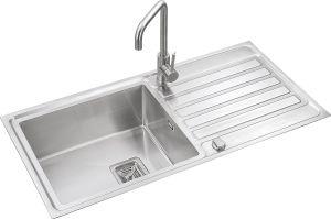 S1218 304# S. S Single Bowl Handmade Sink Topmount pictures & photos