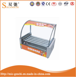 Commercial Electric Hot Dog Grill Hot Dog Roller Grill Machine pictures & photos