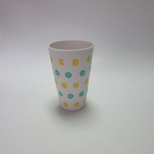 Bamboo Fiber Water Mug Drinking Cup Tumbler Paisley Design Table Ware 400ml 140oz pictures & photos
