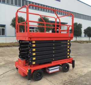 6-16 Meters Aerial Scissor Lift with Ce Certificate pictures & photos