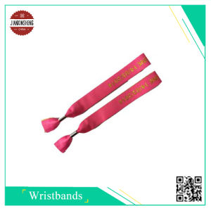 Colorful Woven Wristband with Alu. Lock for Gift pictures & photos