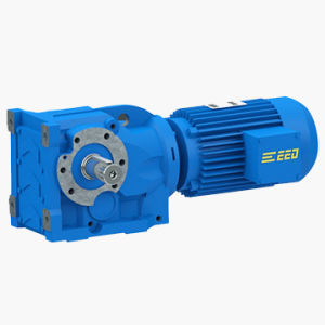 K Series Helical-Bevel Solid Shaft Gear Motor pictures & photos