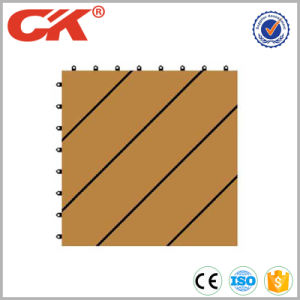 Hot Sale Laminate Flooring Wood Plastic Composite DIY Decking for Outdoor pictures & photos