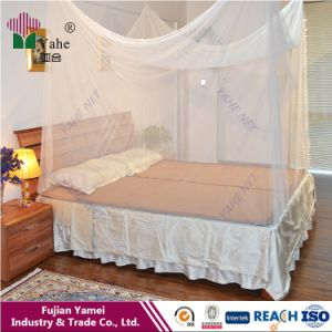 100% Polyester Printed Fabric Rectangluar Mosquito Net