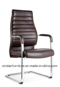 Metal Fixed Leather Meeting Office Chair for Work pictures & photos