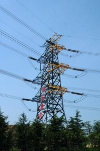 Customed Transmission Angle Steel Tower pictures & photos