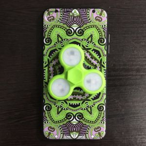 LED Fidget Spinner Bearing Toy Mobile Phone Case for iPhone 7 pictures & photos