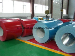 Prepainted Steel Sheet/Color Coated Steel Coil/PPGL/PPGI pictures & photos