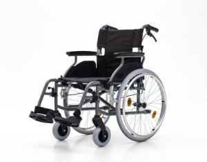 Aluminum, Fold Back, Wheelchair, (AL-001B) pictures & photos